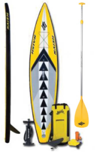 Naish One 12'6'' Inflatable + Paddle