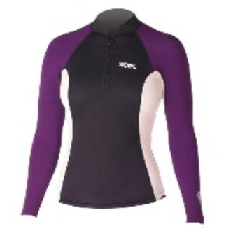 Xcel Axis Short Front Zip Wetsuit Top 2/1