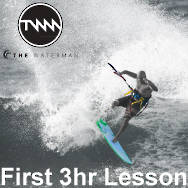 Kitesurfing First 3-hour Lesson Membership discount not applicable