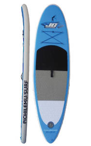 "JC Pichilemu Surf 8'5 x 28"" x 4"" with Aluminum adjustable paddle"